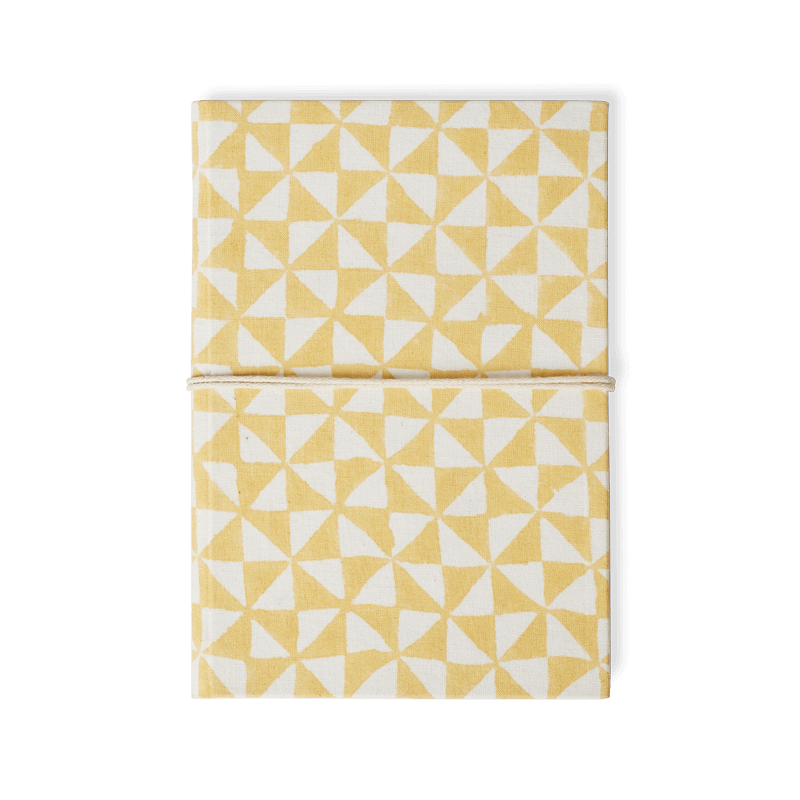 Block Printed Bahi Notebook