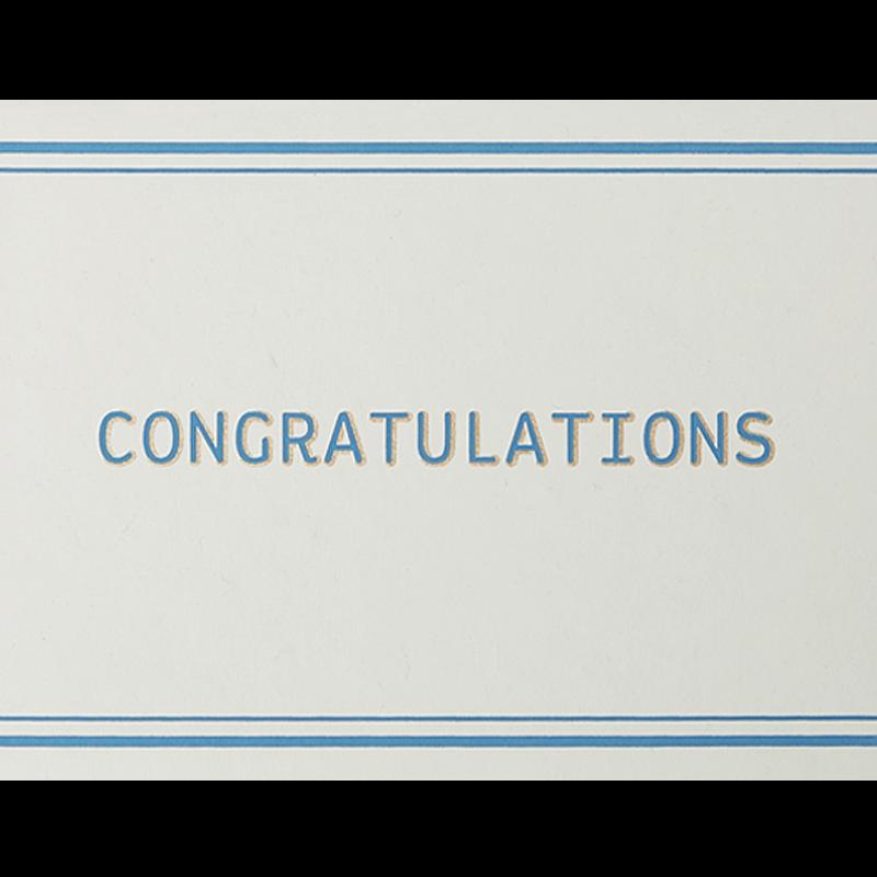 Congratulations Card Set