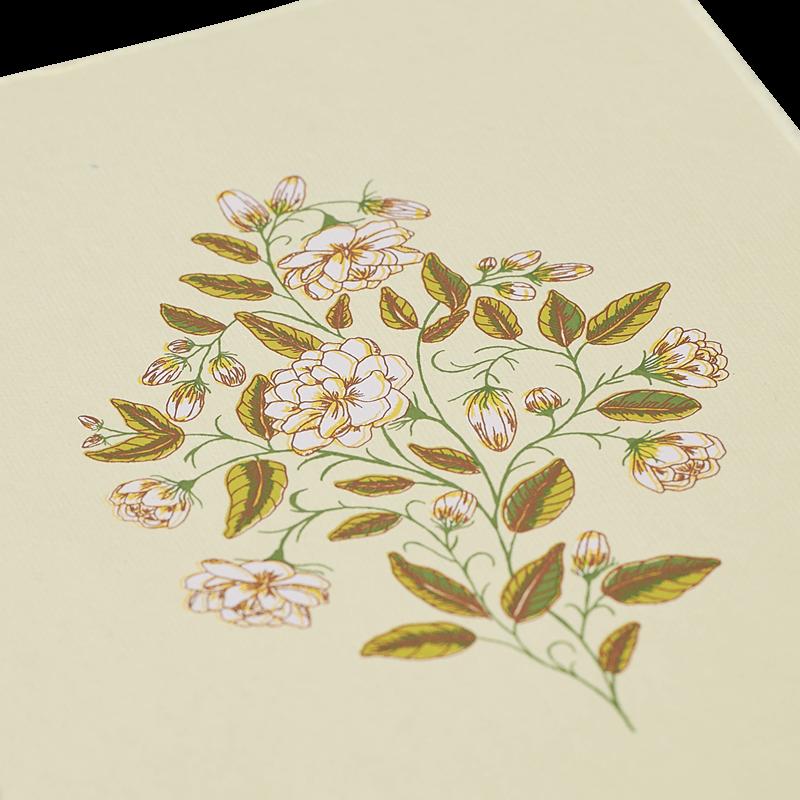 Mogra Art Print