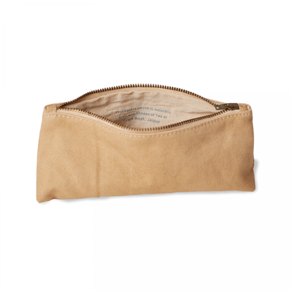 Tea Dyed Pouch