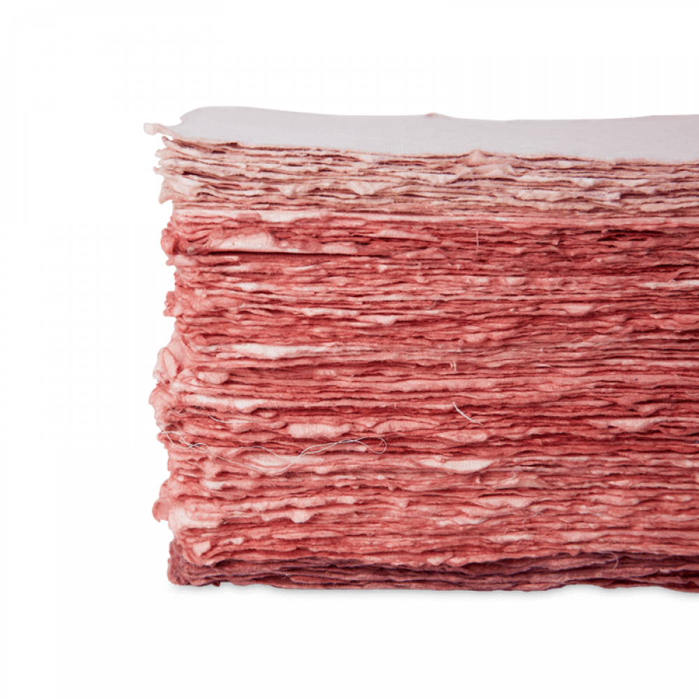 Sappan Wood Dyed Papers