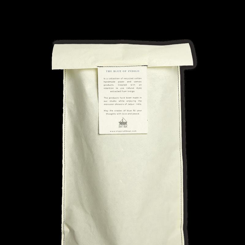 Reversible Indigo Bag