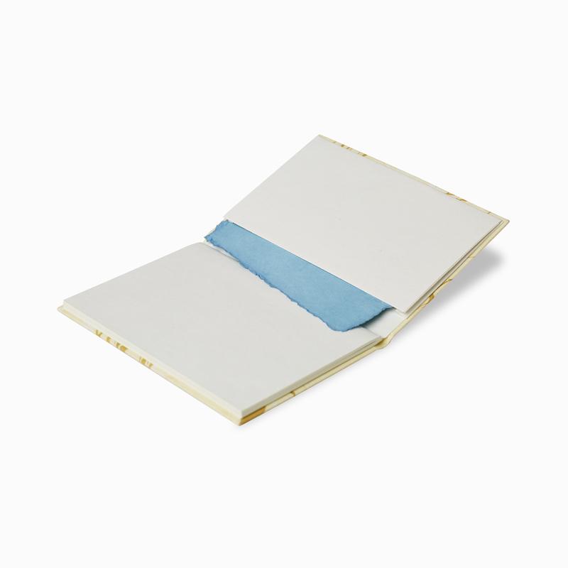 Hand Marbled Bahi Notebook