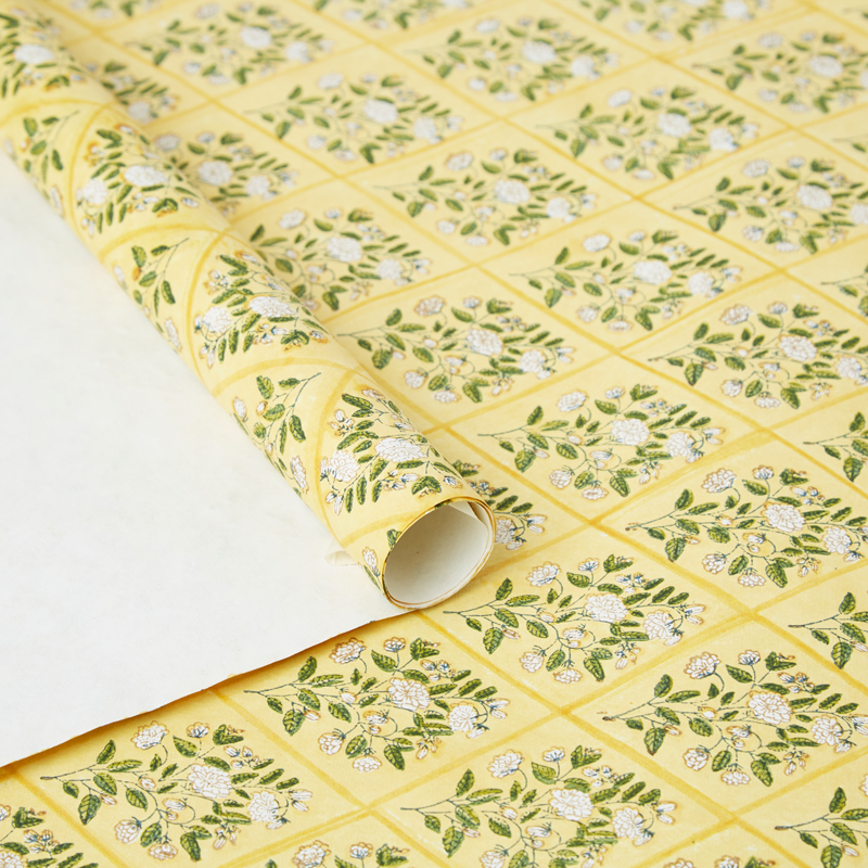 Mogra Wrapping Paper
