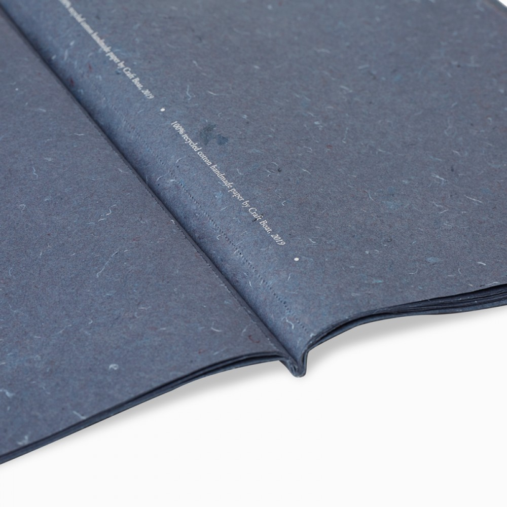 Recycled Denim Wrapping Paper